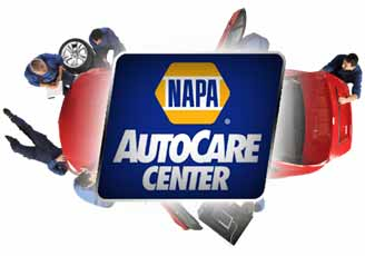 NAPA auto care logo.